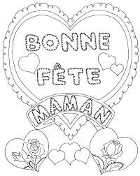Fleurs Pour Fete Des Meres 115 Dessins De Coloriage Fête Des Mères à Imprimer