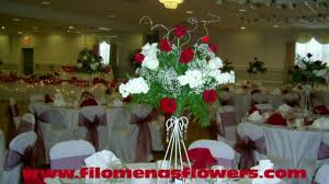 Red Wedding Bouquets Red And White Wedding Flowers And Inspiration By Filomena Youtube