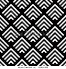 seamless geometric vector background simple black and white