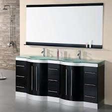 design element jade double integrated glass drop in sink and