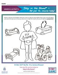activities and workplans to teach children about flu