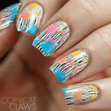 copycat claws 26 great nail art ideas color explosions