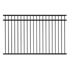 Decorative Metal Fence Panels Shop Fence Panels At Lowes Com