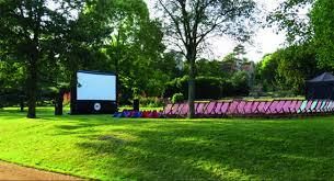 Botanic Gardens Open Air Cinema Open Air Cinema Heads To Town Gardens Book Your Tickets Now