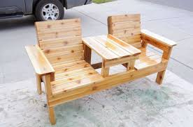 Wood Lawn Bench Plans by 13 Inspiring Woodworking Plans You Need To Try
