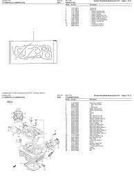 400cc lt a400f ak46k 2003 2006 suzuki atv parts list