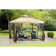 Portable Gazebo Walmart by Mainstays 10 U0027 X 10 U0027 Steel Easy Assemby Gazebo Walmart Com