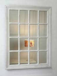 provence vintage white u0027shabby chic u0027 rectangle window framed wall