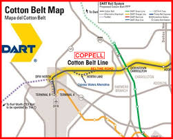 Dallas Dart Map by Dart Heading Our Way Mark Hill For Coppell City Council