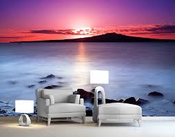 wall murals your decal shop nz designer wall art decals wall rangitoto island wall mural