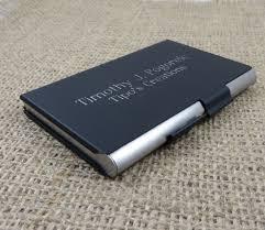 Black Business Card Holder Black Matte Business Card Holder