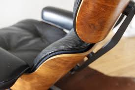 Used Eames Lounge Chair Preservation Eames Lounge Chair