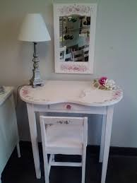 Antique Vanity Table Vintage Kidney Shaped Dressing Table In Pink Shabby Chic Please