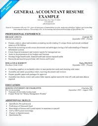 accountant resume format resume format in accounts general accountant resume sle