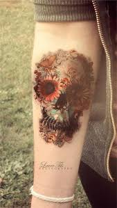 Pictures Of Tattoos On The - 91 best flower tattoos images on floral tattoos