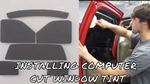 infiniti qx60 window tint kit installing pre cut tint kit youtube