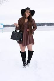 womens style boots canada bohemian winter look s fashion winter style canada shein