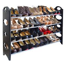 Shoe Rack rebrilliant 4 tier 20 pair shoe rack reviews wayfair