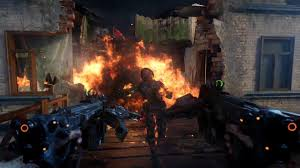 Call Of Duty World At War Zombies Maps by Black Ops 3 Descent Dlc New Weapons In Gorod Krovi Opshead