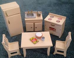 Dollhouse Kitchen Furniture by Dollhouse Oven Etsy