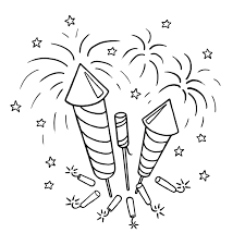 2013 fireworks coloring pages