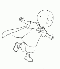 caillou coloring pages awesome caillou coloring book