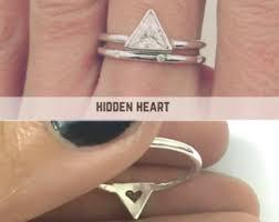 bjs wedding rings trillion ring etsy