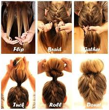 flip hair upsidedown and cut 35 sexy and easy bun hairstyle tutorials for you easy bun bun