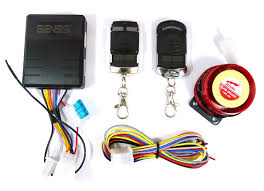 Alarm Systems by Amazon Com Basic Motorcycle Alarm Security System With 2 Remote