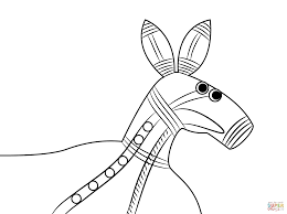 aboriginal lizard coloring page free printable coloring pages