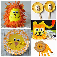 Craft Project Ideas For Kids - 50 zoo animal crafts for kids i heart crafty things