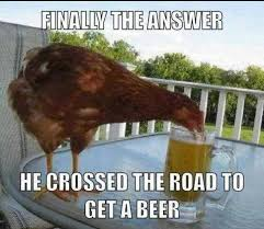 Funny Chicken Memes - finally the answer