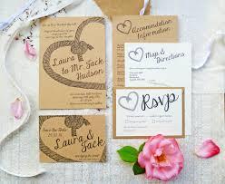 Wedding Invitation Information Card Love Knot Wedding Stationery Set Wedding Invite Guest