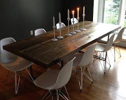 Rustic Dining Room Sets by Rustic Dining Table Etsy