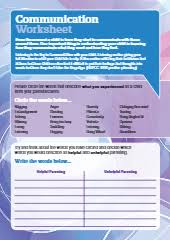 parenting worksheets assessment tool free social work tools