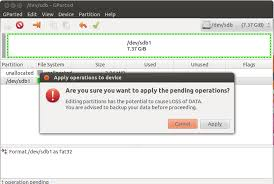 format as fat32 ubuntu how to format usb properly in linux unixmen