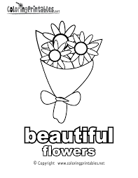 adjectives beautiful coloring page a free english coloring printable