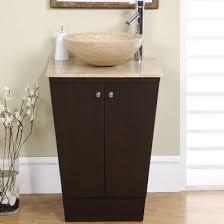 22 Bathroom Vanities 22 Modern Single Sink Bathroom Vanity Travertine Top By