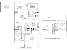 100 blueprints for house floorplan example of cape style