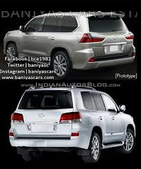 lexus ls india 2016 lexus lx570 vs 2014 lexus lx570 old vs new