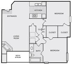 Handicap Accessible Home Plans 1 And 2 Bedroom Apartments In Chamblee Ga Floor Plans