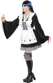 Gothic Womens Halloween Costumes Alice Wonderland Halloween Costume Gothic Alice Women U0027s Costume