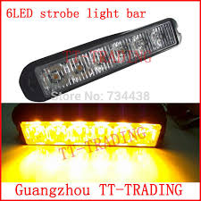 use of amber lights on vehicles 6led police strobe lights vehicle strobe light bar car warning