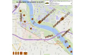 Minneapolis Neighborhood Map Closure Detour Of West River Parkway Trail At Franklin Avenue
