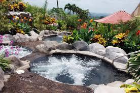 Backyard Volcano Arenal Springs Arenal Costa Rica