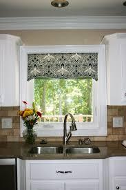 Valances For Kitchen Bay Window Kitchen Valance Ideas Interior Design