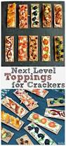 thanksgiving party crackers appetizers 10 easy and elegant ways to top crackersthefitfork com