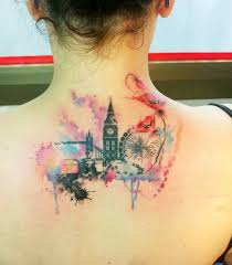 new new york skyline tattoos designs for women