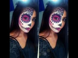 sugar skull makeup tutorial such a gorgeous look definitely trying this out