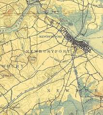 Mahoney State Park Map by Historic Preservation The Newburyport Blog